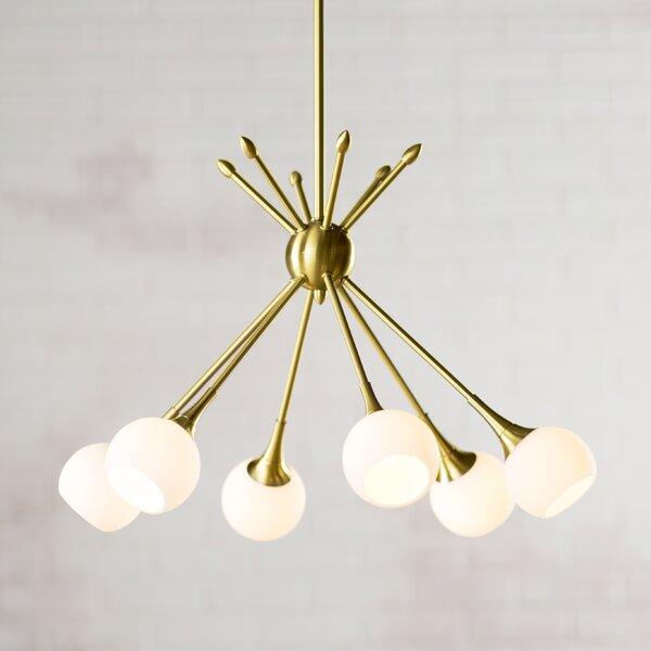 Silvia 6 Light Sputnik Chandeliers