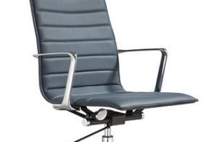 Woodstock Marketing Joe High Back Leather Office Chair (5 Colors .