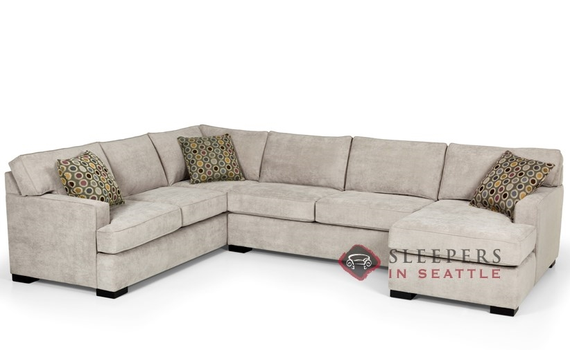 Customize and Personalize 146 True Sectional Fabric Sofa by .