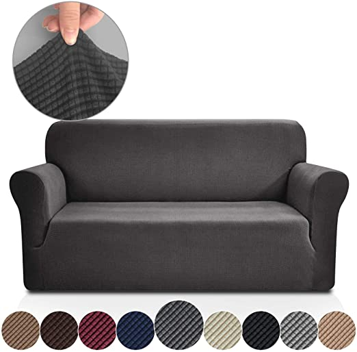 Amazon.com: Rose Home Fashion Stretch Couch Covers for 3 Cushion .