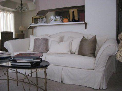 Camelback sofa slipcovers | Sofa-A.com | Slipcovered sofa, Sofa .