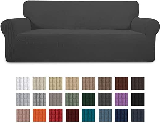 Amazon.com: Easy-Going Stretch Sofa Slipcover 1-Piece Couch Sofa .