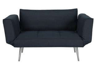 Modern Leisurely Small 2 Seater Sofa One Person Bed With Folding .