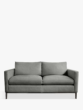 Duresta Domus Jasper Small 2 Seater Sofa, Almalfi Steel Grey .