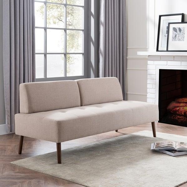 Shop Harper Blvd Altus Small Armless Sofa - Overstock - 229663