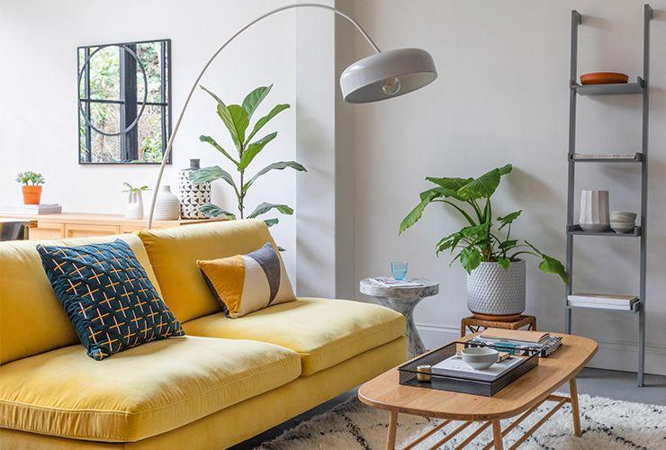 Small Lounge Ideas • Habitat Blog | Yellow living room, Small .