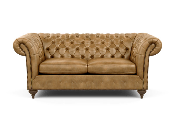 Mansfield Leather Small Scale Sofa | Ethan All