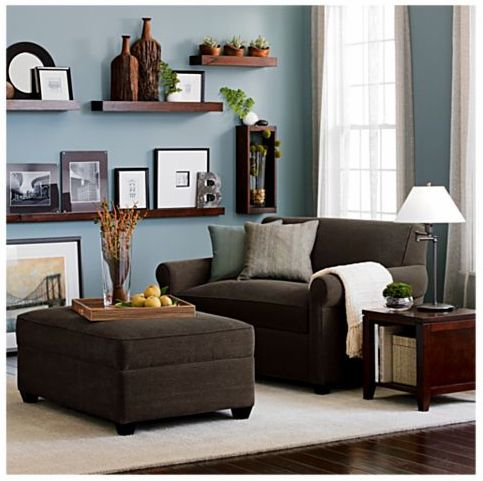 8 Stylish Small Scale Sofas | Brown living room decor, Brown and .