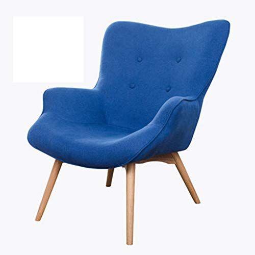 XINGPING Nordic Single Sofa Chair Modern Minimalist Small .