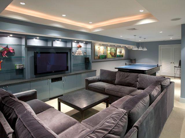 Modern U Shaped Sectional Sofa for Spacious Living Room: Creative .