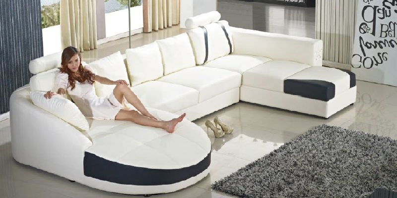 U Shaped Sofa Designs 2019 | U shaped sofa, U shaped sectional .