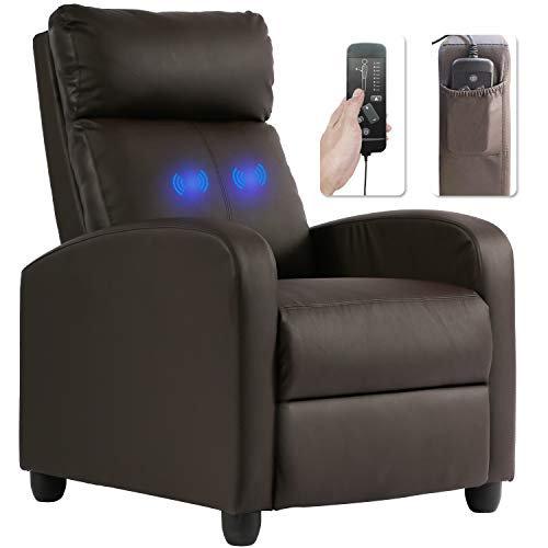 Recliner Chair for Living Room Massage Recliner Sofa Single Sofa .