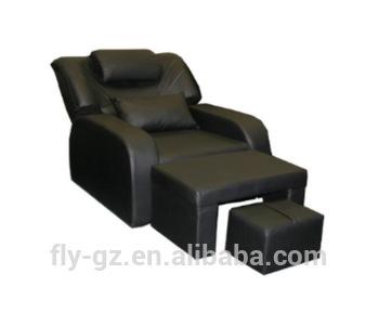 Guangzhou Factory Supply Black Pedicure Spa Chair Footbath Sofa .