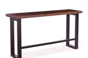 "Paso Robles 70"" Sofa Back Console Table Tawny Bro"