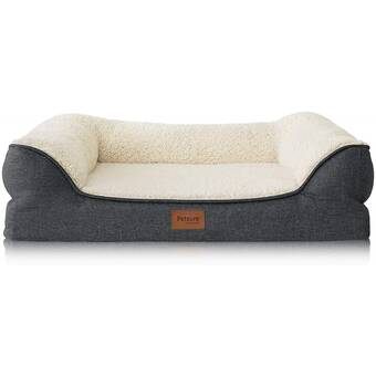Tucker Murphy Pet Caitlynn Dog Sofa with Removable Cover Nonskid .