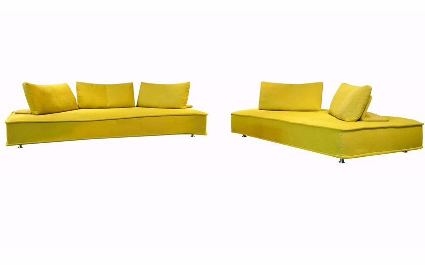 Modular fabric sofa with removable cover ESCAPADE By Roche .