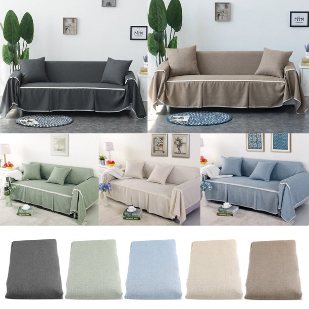 WALFRONT WALFRONT Sofa Cover Couch Covers for Chair Loveseat Sofa .
