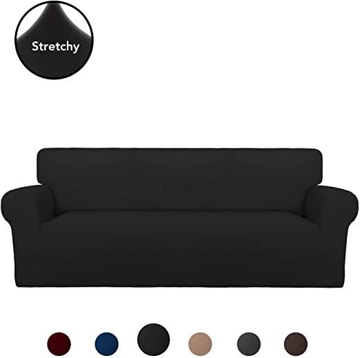 Amazon.com: PureFit Super Stretch Sofa Slipcover – Spandex Non .