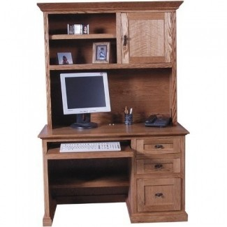 Wood Computer Desk With Hutch - Ideas on Fot
