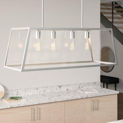 Sousa 4 Light Kitchen Island Linear Pendants