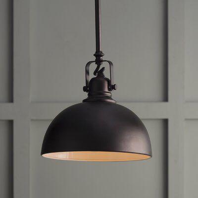 Southlake 1-Light Single Dome Pendant | Farmhouse pendant lighting .