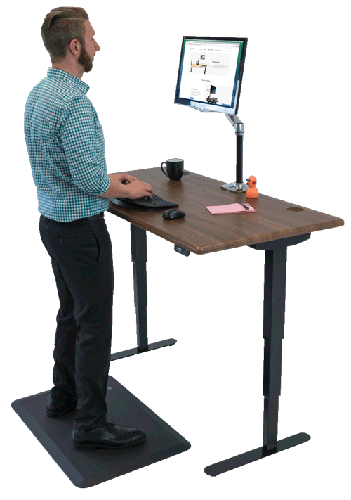 Shop Standing Desks, Sit-Stand, Stand Up, and Adjustable-Height .