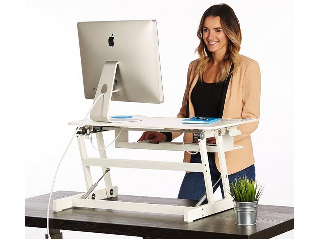 Standing Desk - the DeskRiser - Height Adjustable Sit Stand Up .
