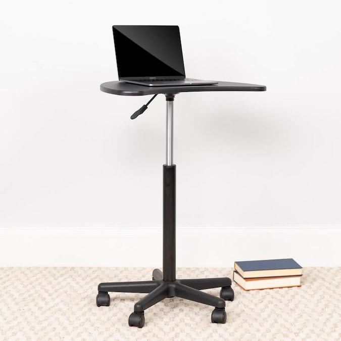 Flash Furniture Modern/Contemporary Black Computer Desk in the .