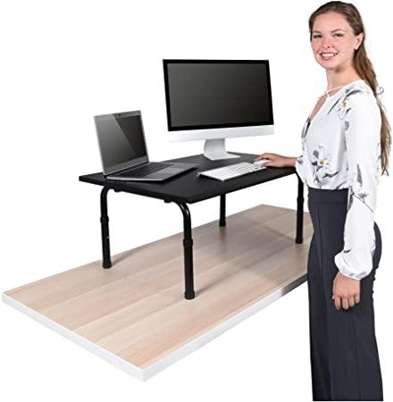Amazon.com : Desktop Standing Desk Converter - Ergonomic Desk .