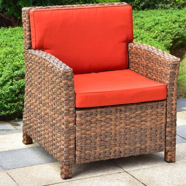 Stapleton Wicker Resin Patio Sofas With Cushions