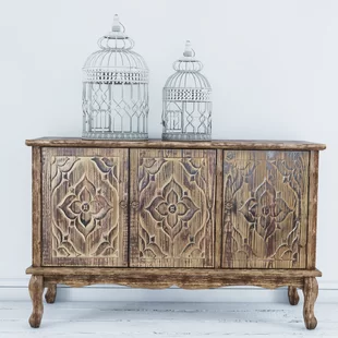Steinhatchee Reclaimed Pine 4 Door Sideboard | Joss & Main (With .
