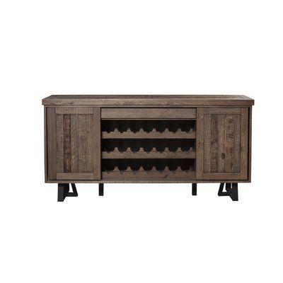 "Foundstone Stephen 72"" Wide Credenza | Furniture, Alpine furniture ."