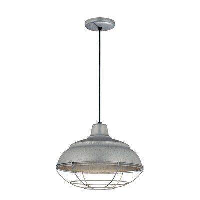 Stetson 1 Light Bowl Pendants