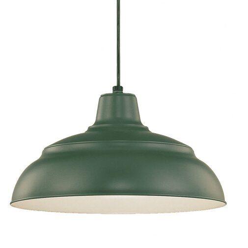 Beachcrest Home Stetson 1-Light Bowl Pendant & Reviews | Wayfair .