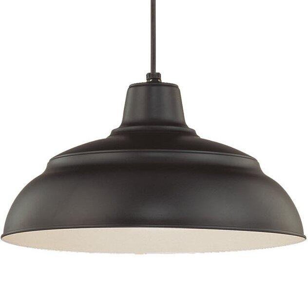 Stetson 1 - Light Single Dome Pendant & Reviews | AllMode