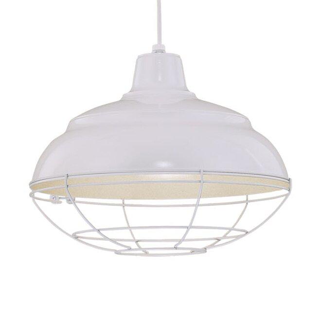 Beachcrest Home Stetson 1 - Light Single Dome Pendant & Reviews .