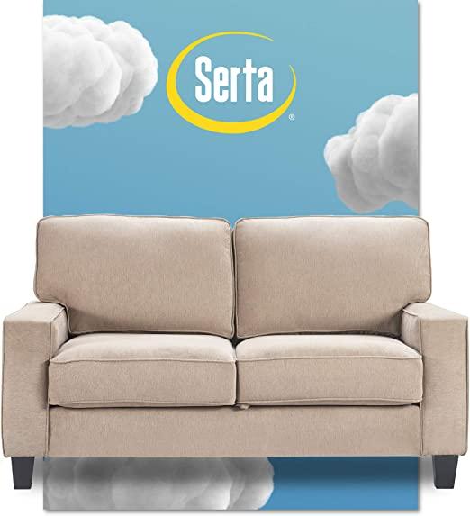 Amazon.com: Serta Palisades Sofas with Storage Modern Design .