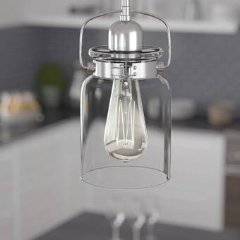 Sue 1 Light Single Jar Pendants