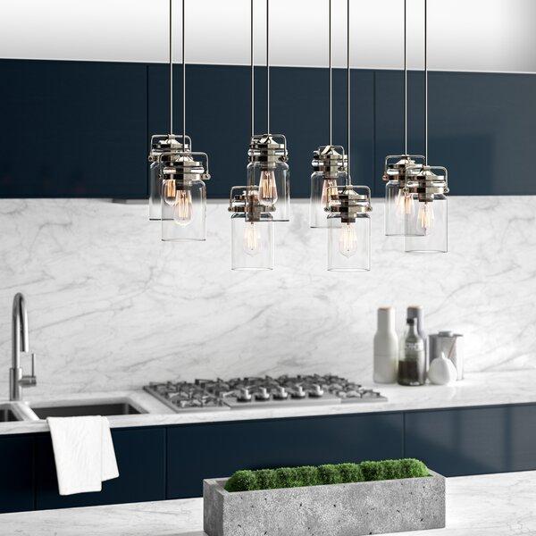 Greyleigh™ Sue 8 - Light Cluster Jar Pendant & Reviews | Wayfa