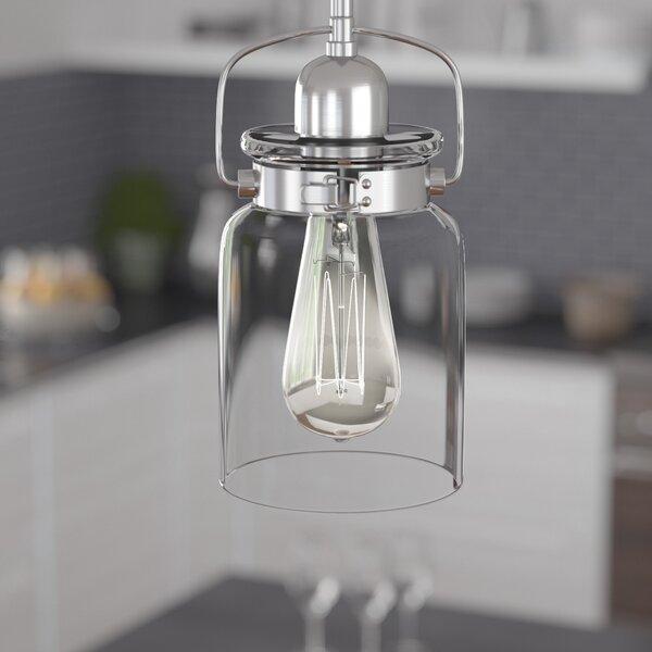 Laurel Foundry Modern Farmhouse Vasilia 1 - Light Single Jar .