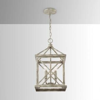 Birch Lane™ Heritage Sussex 1-Light Single Geometric Pendant .