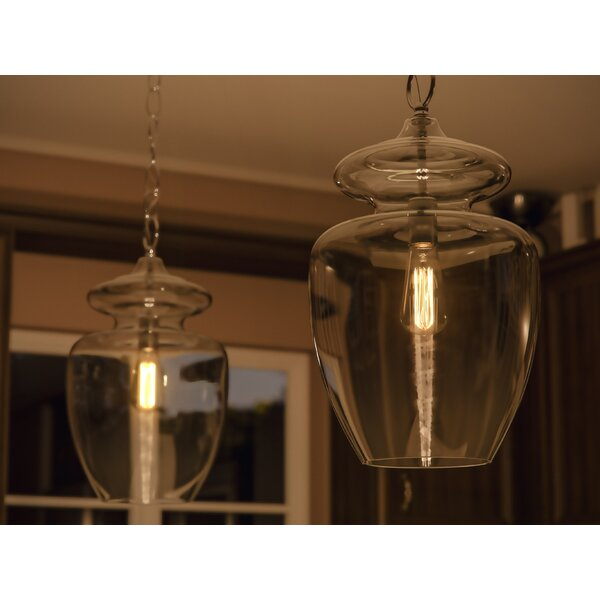 Birch Lane™ Sussex 1-Light Single Geometric Pendant & Reviews .
