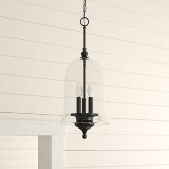 Sussex 1-Light Single Geometric Pendant | Glass pendant light .