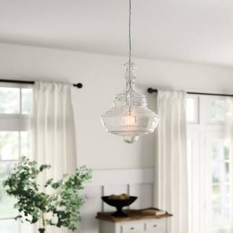 Sussex 1-Light Single Geometric Pendant | Lantern pendant .
