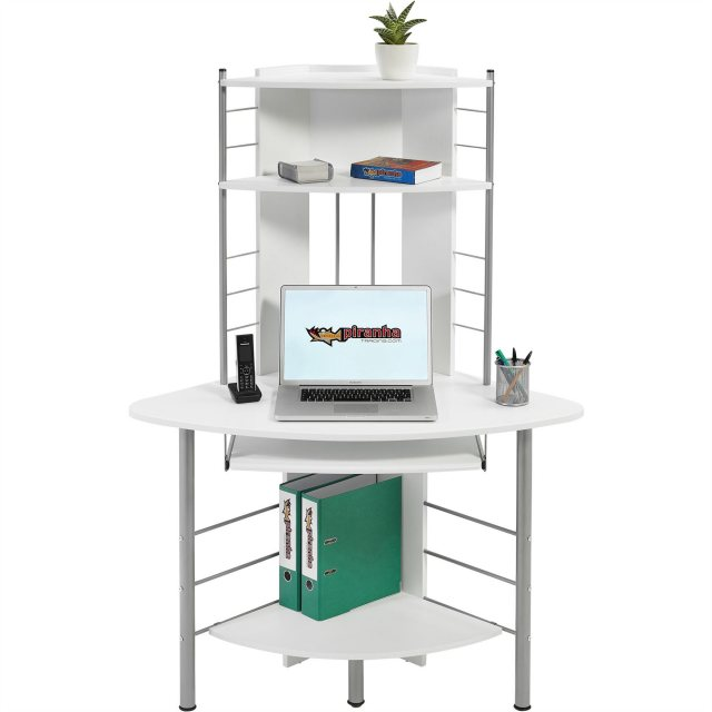 Piranha Furniture Oscar Tall Corner Desk & Workstation - Office .