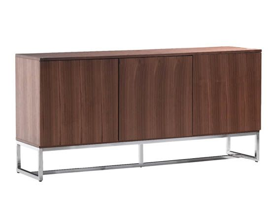 Plummers - Sleek and modern, the Tate sideboard comes in a walnut .