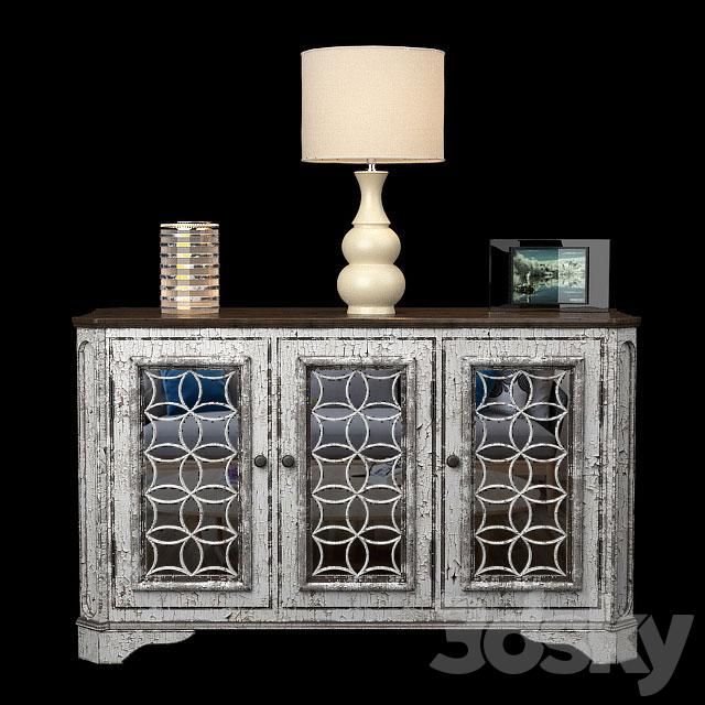 3d models: Sideboard & Chest of drawer - Tavant Sideboa