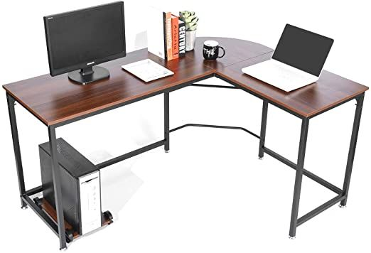 Teak Computer Desks in 2020 | Modern desk, Computer desks for home .