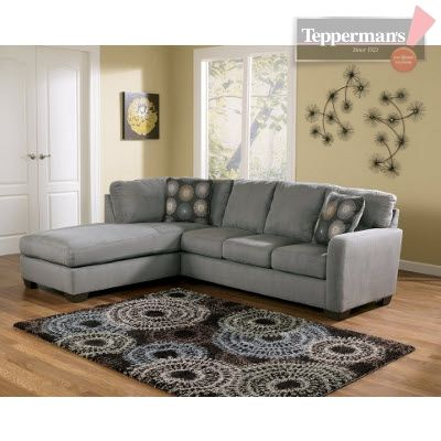 Zella 2PC Sectional - Tepperman's | Contemporary sectional sofa .