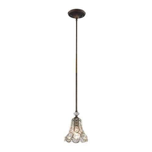 Astoria Grand Elberta 1-Light Single Bell Pendant | Wayfa